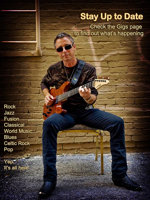 Randy Holbrook Guitarist Home Page